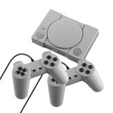 DATA FROG PS1 Mini 8-bit 620 Classical Games Retro Mini TV Video Game Console with Gamepads
