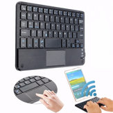 81 Keys Bluetooth Klavye Samt Telefon / Tablet / Android için Touch Padli 3.0 / Windows XP / 7/8