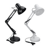 5W 220V Stepless Dimming Flexible Arm Desk Lamp Adjustable Table Lamp Study Reading Light With Clamp