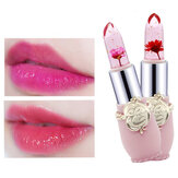 Temperature Change Color Flower Jelly Lipstick