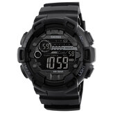 SKMEI 1243 5ATM Waterproof Dual-time Sport Men Digital Watch