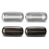 2pcs dynamique coulant LED feux de clignotant latéraux lampe de clignotant pour audi A4 S4 B6 B7 A6 C5 TT A8