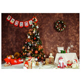 Christmas Tree Photography Background Vinyl Cloth Studio Background Cloth Home Party Decoration Props