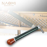 NAOMI Carbon Tube Piano Tuning Lever Carbon Fiber Green Silk Braided Tube Piano Tuning Hammer