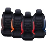 Car Front Seat Mat Cover PU Leather Breathable Cushion Pad Backrest Universal