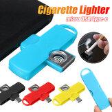 Портативный адаптер Bakeey Mini C-Lighter Micro USB Type-c, подключенный к мобильному телефону для Huawei P30 P40 Pro MI10 Note 9S