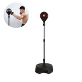 Move It Smart Punch Rebound Boxing Ball with APP Data Monitor Sensor-Adjustable Height Rechargeable Boxing Target Ball for Releasing Stress