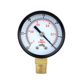 TS-50-1 + 1 0 ~ -30inHg 0 ~ -1 Barg Manometer 50mm Mini Luchtdrukmeter Meter Manometer