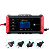 12/24V 8A/4A Touch Screen Pulse Repair LCD Battery Charger For Car Motorcycle Lead Acid Battery Agm Gel Wet