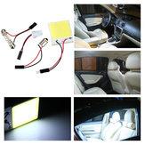48 épi de puce LED t10 ba9s orne le dôme la lampe d'ampoule automobile de comité claire intérieure blanche