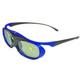 Obturador ativo 96-144HZ recarregável 3D Óculos para projetor BenQ Optoma JmGo XGIMI