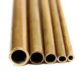 Tubos de bronze redondos de 2-6mm de diâmetro para o tubo de bronze longo do ofício de construção do modelo 300mm
