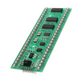 DC 5V To 6V 250mA RGB Double Channel Double 24 LED Level Indicator MCU With Adjustable Display Mode