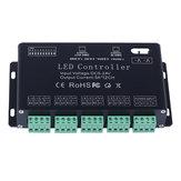 12 Kanal RGB DMX 512 LED Controller Decoder Dimmer Treiber für LED Streifen Modul Licht DC5V-24V