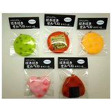 6cm Squishy Sound Crack Biscuit Cookie Pendant Japanese Style Cracker Kids Gift With Packaging