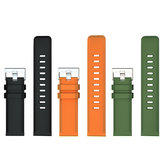 LOKMAT 120MM+85MM 22mm TPU Watch Band Universal Sport Watch Strap Replacement for LOKMAT Smart Watch