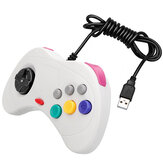 DATA FROG Classic Controlador de juegos con cable USB portátil retro Gamepad Gaming Joypad para Windows PC Mac