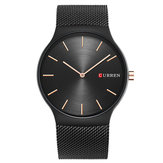 CURREN 8256 Simple Business Steel Strap Men Quartz Watch