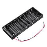10 slots AA Bateria Caixa Bateria Placa de suporte para 10xAA Baterias Kit DIY Caso