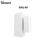 SONOFF DW2-RF 433Mhz Wireless Door Window Sensor App Notification Alerts For Smart Home Security Alarm Works with SONOFF RF Bridge
