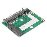 3-teilige mSATA-SSD auf 2,5-Zoll-SATA-6,0-GPS-Adapterkonverter-Kartenmodulplatine Mini-PCie-SSD-kompatibel SATA3,0-Gbit / s / SATA-1,5-Gbit / s