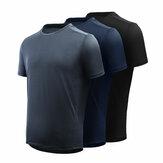 [OD XIAOMI YOUPIN] Giavnvay T-shirt męski Icy Sports szybkoschnący Ultra-cienki Smooth Fitness Running Koszulki