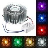 1W-os LED-es alumínium mennyezeti lámpatest folyosó erkély medál lámpa világító csillár