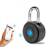 Bluetooth Smart Lock Diebstahl Alarm Schloss für Radfahren Motorrad Tür mit APP Control