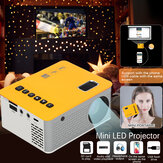 Projetor LED Mini Home Theater Cinema HDMI USB AV Beamer Sistemas Media Play