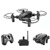 Realacc R11 Mini 5.8G FPV Foldable RC Drone Quadcopter with 720P HD Camera 3 Inch Goggles