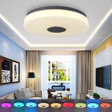 33cm LED Plafonniers Colorful DownLight Lampe Contrôle Intelligent Bluetooth WIFI APP Maison