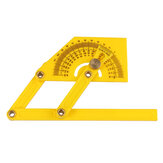 Goniometer Angle Finder Miter Gauge Arm Measuring Ruler Tool Plastic Protractor Hand Tools