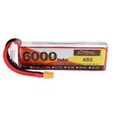 ZOP Power 7,4 V 6000 mAh 65C 2S Lipo Batterie XT60 Stecker für RC Quadcopter