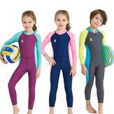 UPF50 + Odporne na promieniowanie UV Dziecięce pianki na całe ciało Dziecięce stroje kąpielowe Kombinezony do nurkowania Dla chłopców Dziewczęta Surfing Sporty wodne