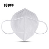 10Pcs KN95 4-Layer Respirators Filter Auto-priming Face Máscara Filtro de poeira respirável Máscaras