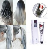 100 mlライトグレーHengda Danisオリジナルの生態学的な単一の髪の染料の色焼き軟膏