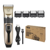110V-240V Rechargeable Pet Hair Clipper Electric Cat Dog Hair Trimmer Shaver Grooming Cutter