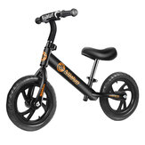 NJIALUN 12'' Adjustable Kid Balance No-Pedal Childrens Toddler Beginner Rider Training Bike for 2-6 Years Old Christmas Gift