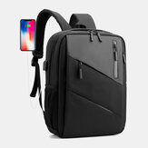 Men Large Capacity With USB Charging Business Travel Outdoor School Bag 14 Inch Laptop Bag Backpack