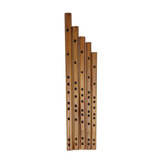 Bamboo Flute Multiple Tunings Piccolo-Flannel Bag