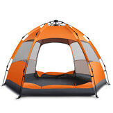 Outdoor 3-5 People Automatic Tent Waterproof Double Layer Sunshade Rain Shelter Hiking Camping