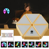 DC5V USB DIY Smart Puzzle Night Light Touch-sensitive Color-changing Toy