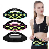 Haissky HSK-136 Outdoor Running Waterproof Reflective Stripe Waist Bag for iPhone 8 X Xiaomi