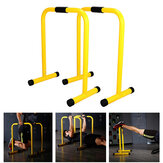 2 Pcs Single Parallel Bars Multifunction Push Up Stand Dip Stand Station Fitness Gym Home Exercise