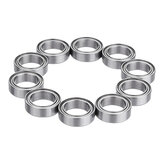 Machifit 10pcs MR128ZZ MR148ZZ Ball Bearing I.D 8mm Steel Double Shielded Deep Groove Bearing
