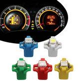 10pcs 12V T5 B8.3D W3W 5050 LED Instrument Head Lights Dashboard Dash Gauge Bulb