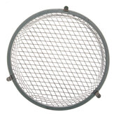 Reptile Pet Light Bulb Lampshade Anti-Scald Mesh Net Cover For 5.5 Inch Lamp Holder