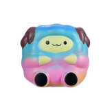 Jumbo Sheep Squishy Cute Galaxy Rainbow Soft Alpaca Lento aumento giocattolo regalo profumato
