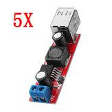 5 stücke DC-DC 3A Abwärtsgeregelte Power Module Auto-ladegerät Dual USB Ausgang 9 V / 12 V / 24 V / 36 V zu 5V