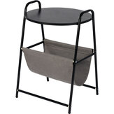Simple End Side Tables Sofa Wrought Iron Small Round Couch Corner Table